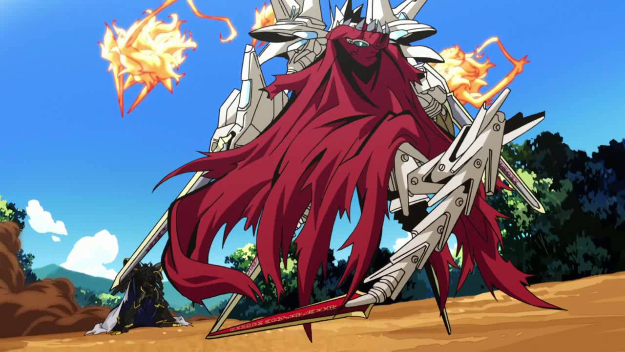 Wallpaper Digimon Hd Digimon Adventure Tri Alphamon Vs Jesmon 數碼寶貝 Tri 第三章