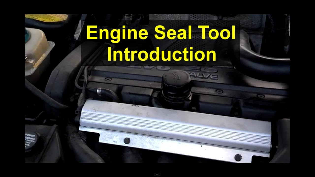 New tool introduction, engine seal installer, crank, front and rear cams  -  VOTD
