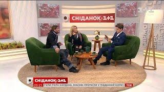 У гостях Сніданку зіркове подружжя – Ірина Білик та Аслан Ахмадов