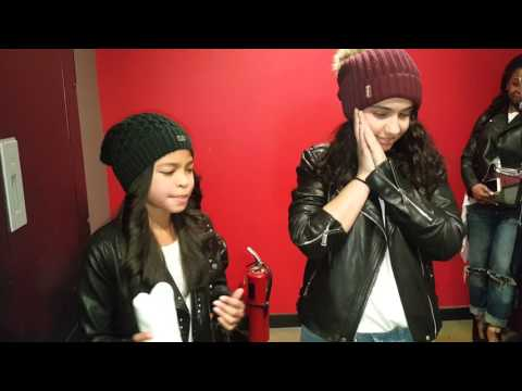 Alessia Cara checks out Navia Robinson's version of HERE!