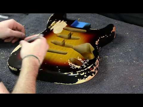 John Frusciante '62 Strat Replica by MCG