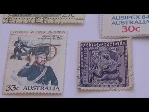 Some Australia Old Stamps