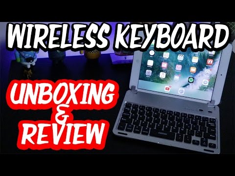 ARTECK Bluetooth Keyboard Unboxing & Review