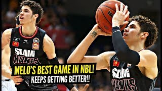 LaMelo Ball's GOES OFF For NBL CAREER HIGH In His BEST GAME Yet!! Throws CRAZY Passes!!