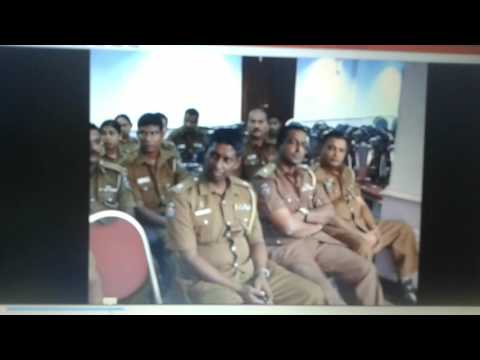 Surath Chamara Widanapathirana - A Farewell Speech - Police Office, Colombo, Sri Lanka.( Part 2 )
