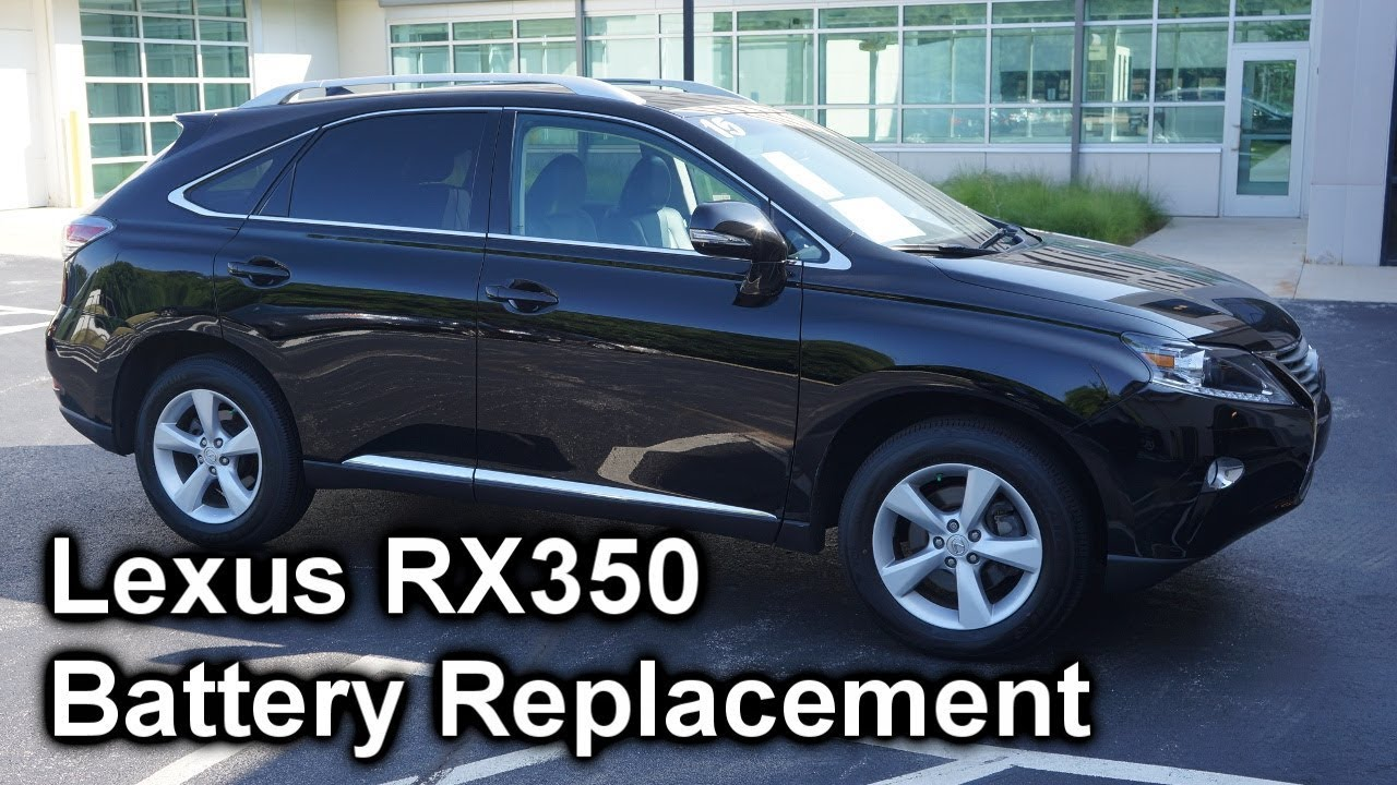 Lexus Rs350 Battery Replacement - The Battery Shop
