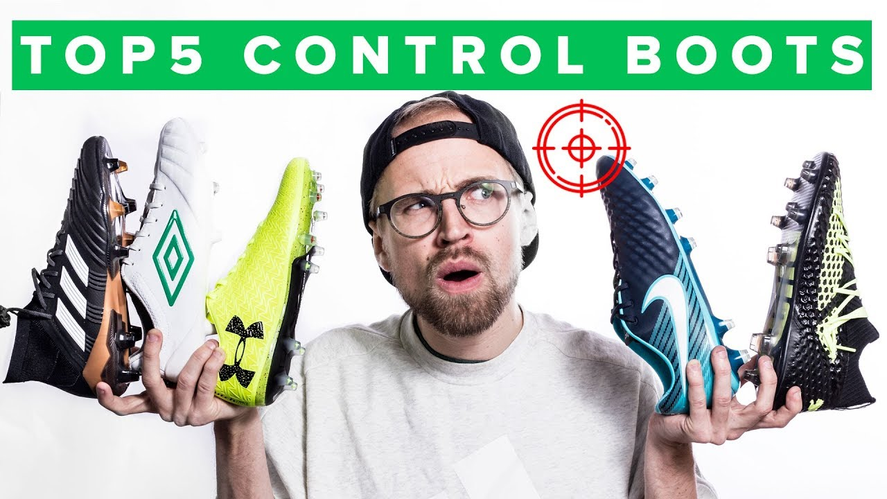 TOP 5 BEST CONTROL FOOTBALL BOOTS - YouTube