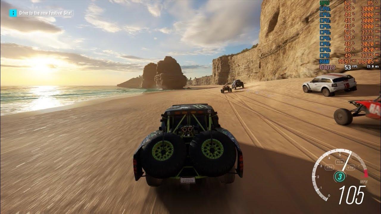 Forza Horizon 3 | RYZEN 5 2400G | GTX 1060 6GB