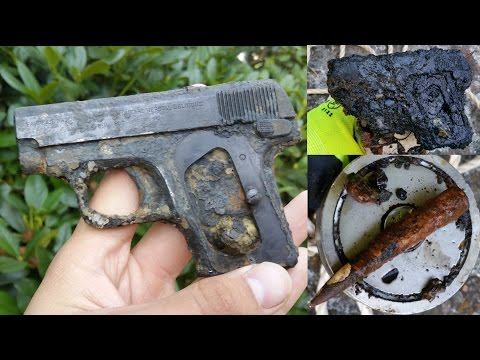 Magnet Fishing WW2 - World War 2 Pistol found!!!