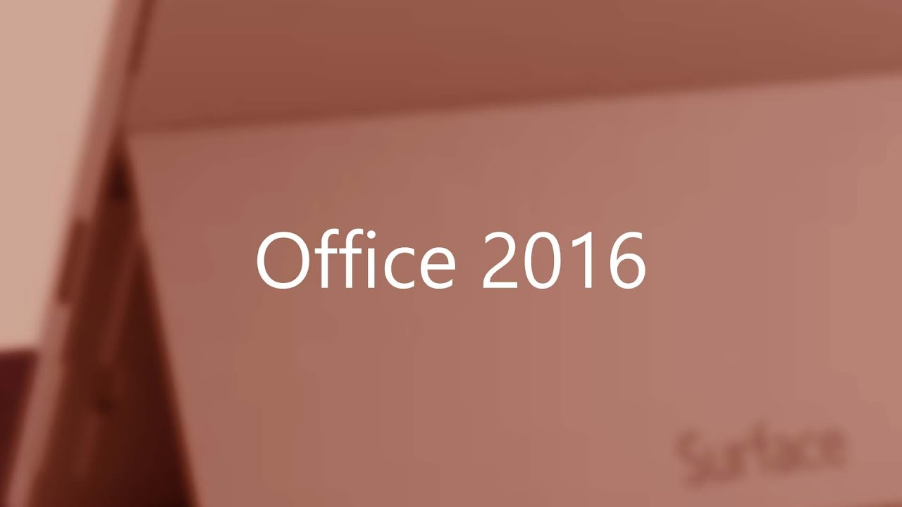 How to Upgrade Office 2013 to Office 2016 - YouTube