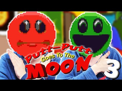 The Man In The Moon  |  Putt-Putt: Goes To The Moon - Part 3 |