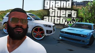 BUYING A Audi Q7 On 30s & A 2018 Dodge Demon! - GTA 5 Real Hood Life - Day 40