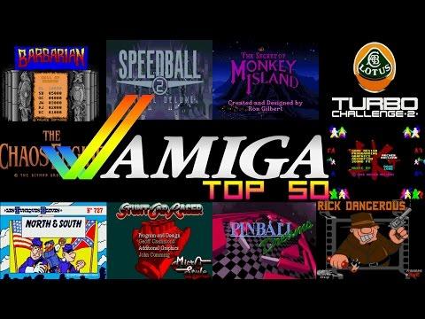 Amiga Top 50 Games