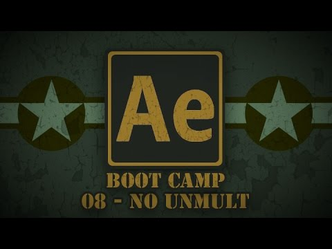 PixelBump - AE Boot Camp 08 - No Unmult (or How I Learned To Do Things Without Plugins)