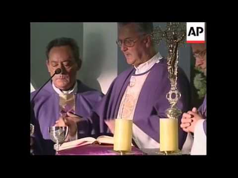 CHILE: AUGUSTO PINOCHET ATTENDS MEMORIAL MASS - YouTube