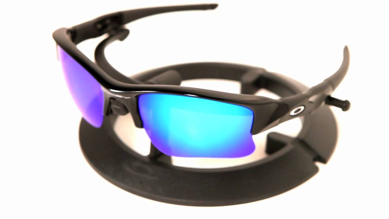af8b5560499 VL Polarized Ice Blue Lenses for Oakley Flak Jacket XLJ - YouTube
