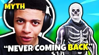 MYTH ON WHY SKULL TROOPER SKIN IS NEVER COMING BACK | Fortnite Daily Funny Moments Ep.132