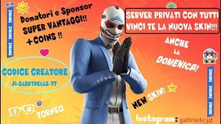 PRIVATE server 🔴 FORTNITE LIVE ITA SKIN REGALO TO CHI MY SUPPORT: J1-GABRYDELLE-YT (715/800)