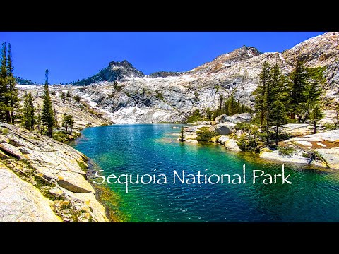 Sequoia National Park Amazing Views Backpacking Hiking Mt Silliman Twin Ranger Crescent Lake 4k60fps