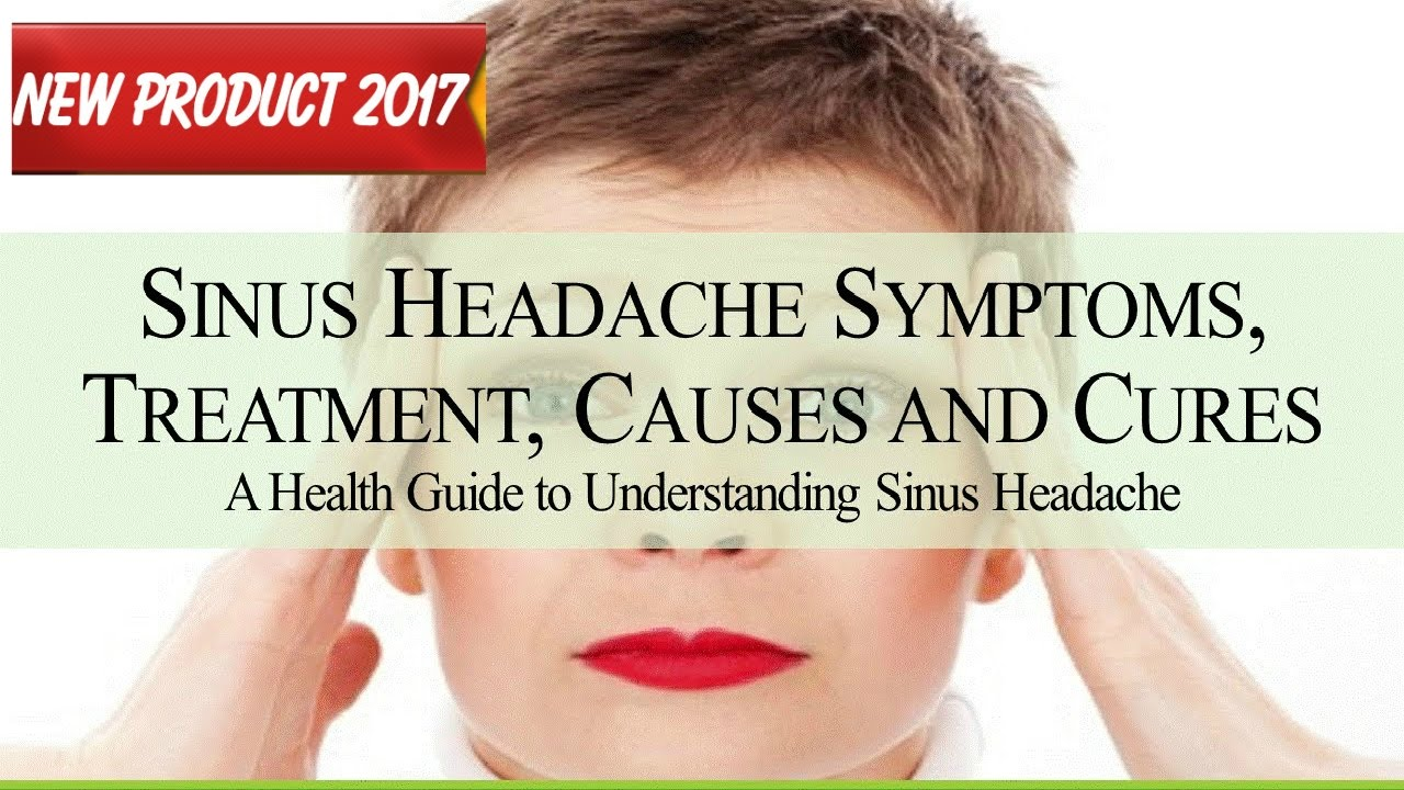 How and what to cure sinusitis