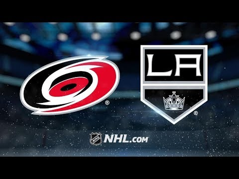 Carolina Hurricanes vs Los Angeles Kings | Dec.2, 2018 | Game Highlights | NHL 2018/19 | Обзор Матча