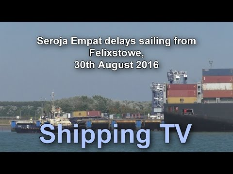 Seroja Empat delays sailing, 30 August 2016
