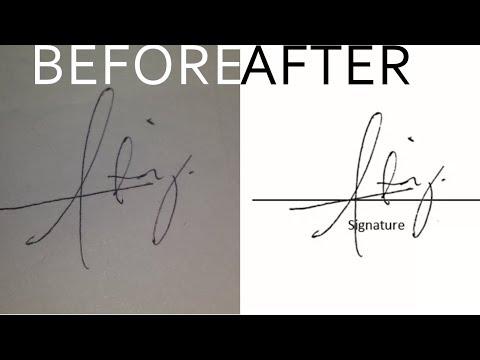 How to make Digital Signature using Microsoft Word