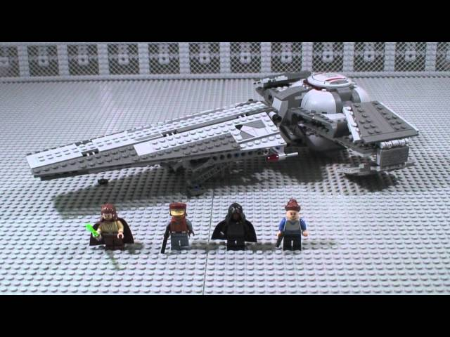 Lego Star Wars Darth Mauls Sith Infiltrator Review 7961 Youtube