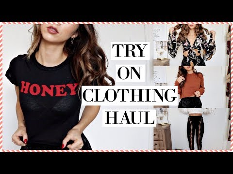 TRY ON CLOTHING HAUL | Chelsea Trevor
