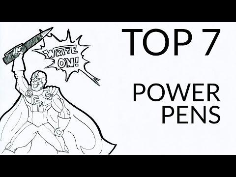 Top 7 Power Pens of GouletPens.com