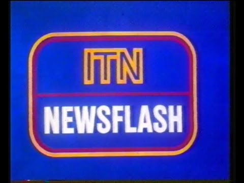 Central - ITN Newsflash & World of Sport - 1985