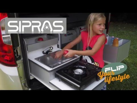 Camping Box FLIP for Fiat Doblo
