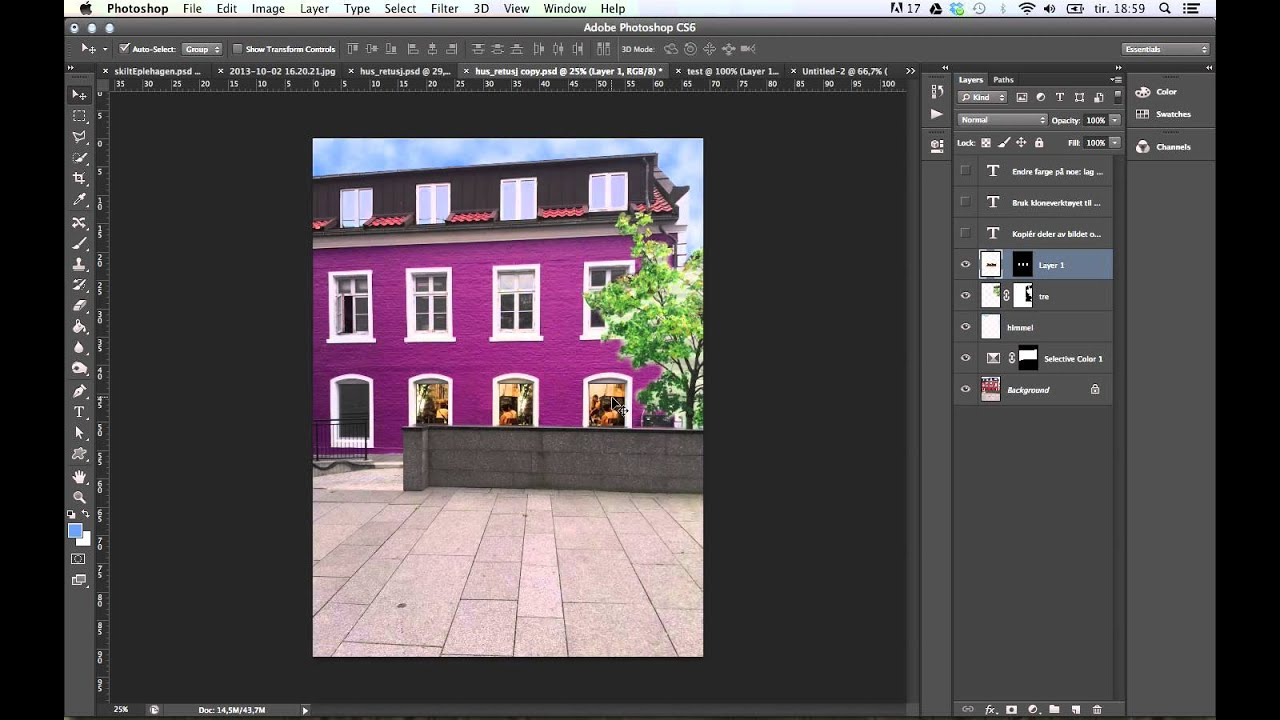 Attractive Photoshop: Load Selection Layer Mask