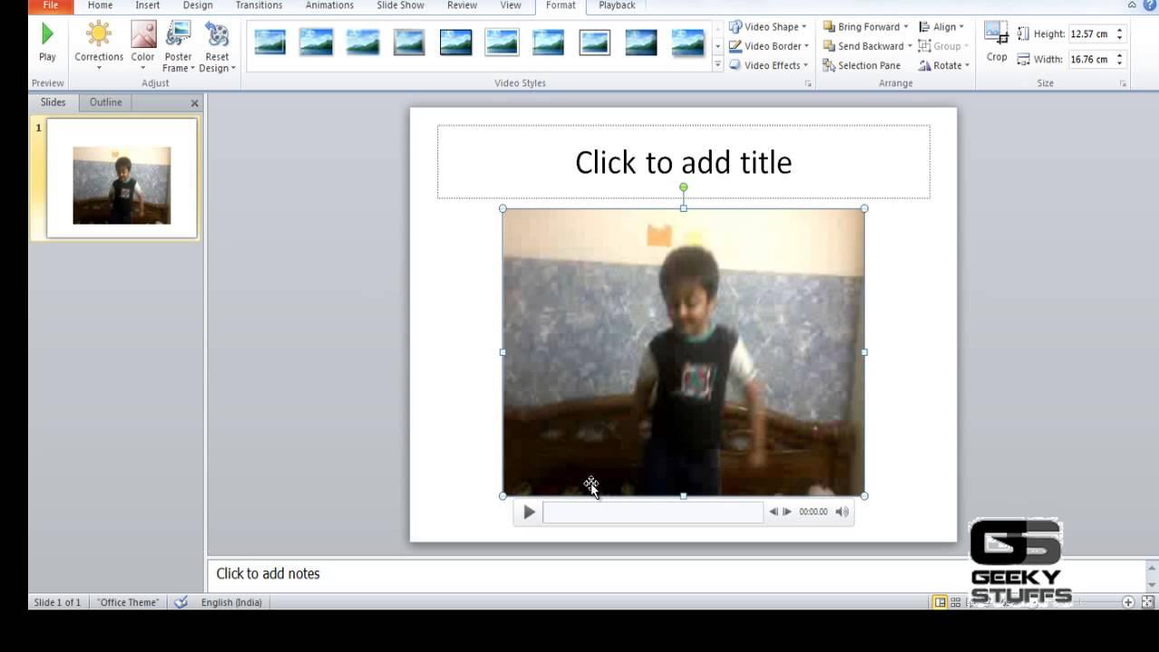 Embed Youtube Videos Oflline In Powerpoint Presentation  Videofilepowerpointvideo