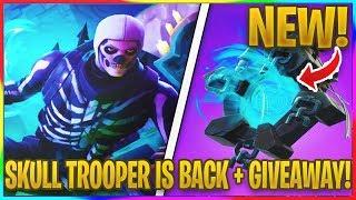 *NEW* SKULL TROOPER/SKULL RANGER GIVEAWAY! | Fortnite Season 6 News