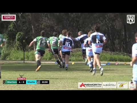 2019 Central Coast RL Reserve Grade Round 6 Highlights - Northern Lakes Warriors vs Terrigal Sharks