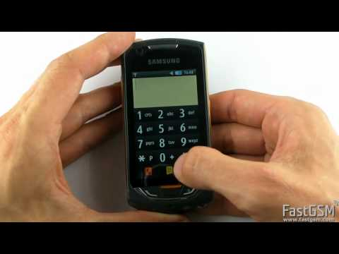 Debranding & Software Upgrade Samsung S5620 Monte