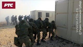 """""""Vek pobednika"""", snimak vežbe združenih snaga VS u Borovcu"""