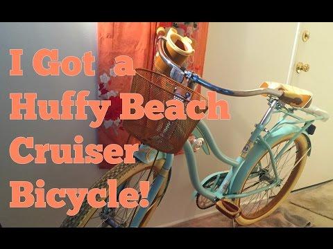 I Got A Huffy Beach Cruiser Bike!