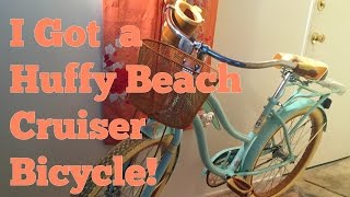 I Got A Huffy Beach Cruiser Bike!