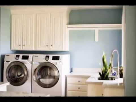 laundry room paint color decorations ideas youtube. Black Bedroom Furniture Sets. Home Design Ideas