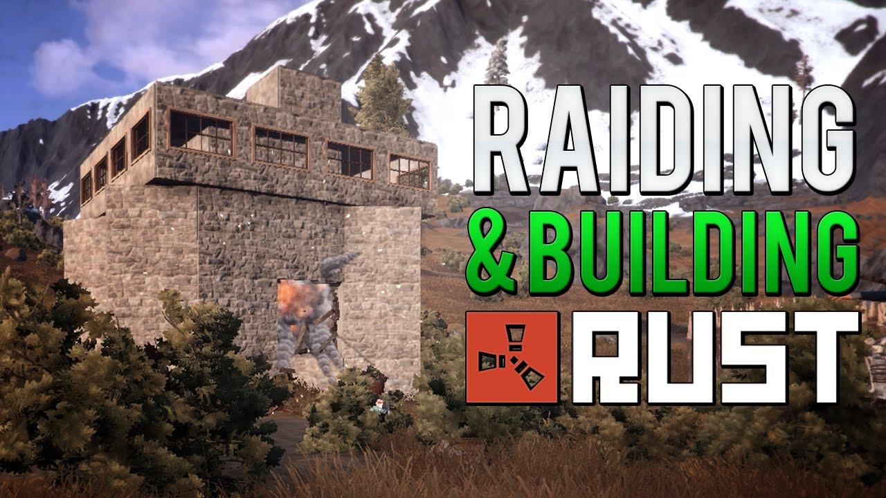 Rust Solo Survival Raiding A Roof Camper Amp Base