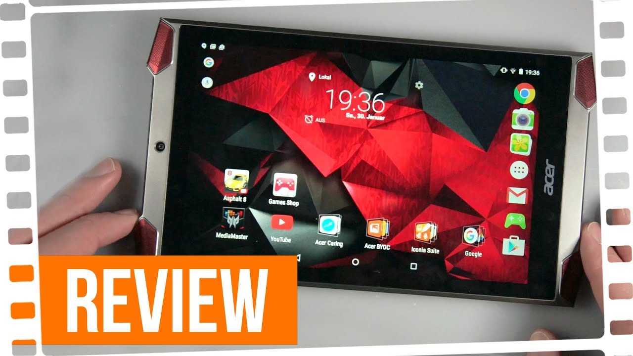 Acer Predator Gaming Tablet Review