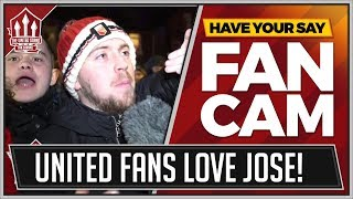 """""""PARK THE BUS MAN UNITED!"""" Everton 0-2 Manchester United FanCams"""