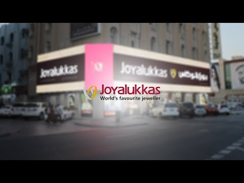 Outdoor LED screens, Lightboxes and signs at Joyalukkas Mina Bazar, Dubai