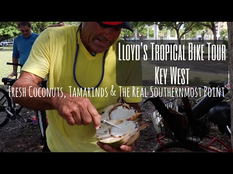 Fresh Coconuts, Tamarinds & The REAL Southernmost Tip: Lloyd's Bike Tour Key West (Part 2)