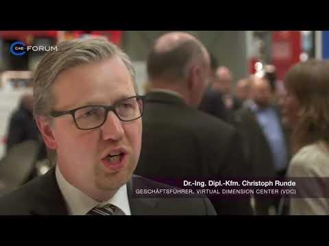 VDC auf dem CAE Forum 2017   Hannover Messe