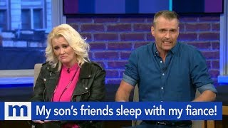 Why does my fiance hang out with my son & his female friends? | The Maury Show
