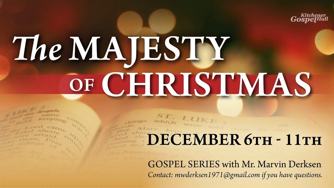 The Majesty of Christmas: Invitation