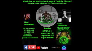 Paranormal Soup Live ITC Spiritbox Night special guest Josh Louis